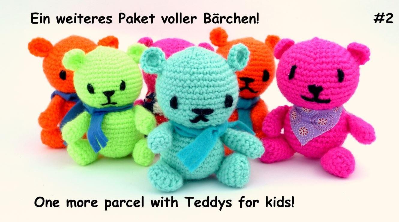 Crocheting for kids - Bärchen für Kinder häkeln #2
