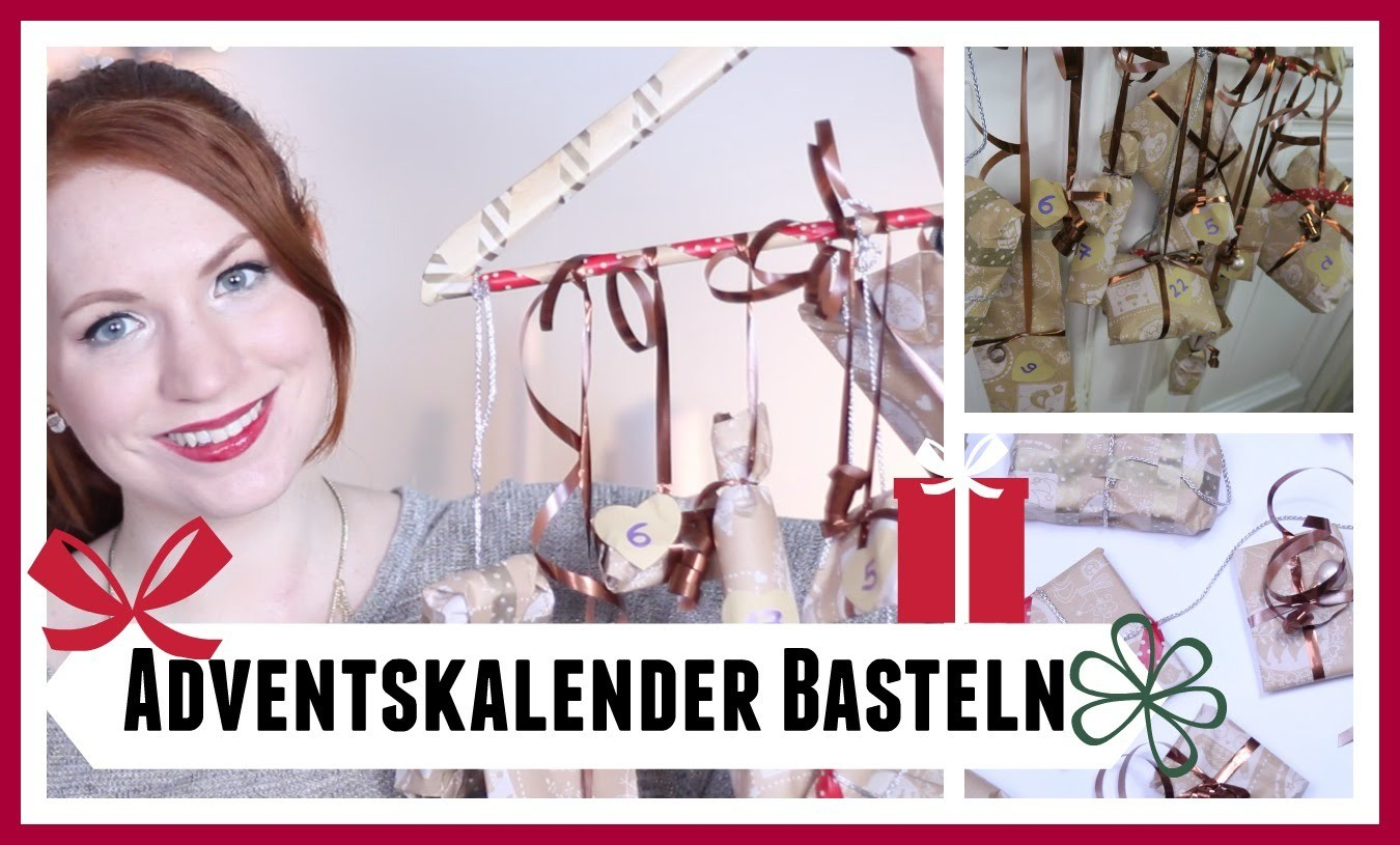 Adventskalender basteln DIY I Lenaturnsgreen