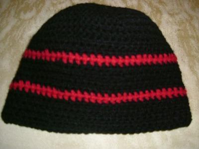 Coole Mütze Häkeln Schwierigkeitsgrad der Stufe 2