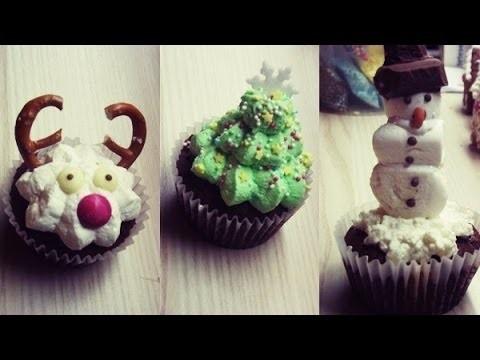 DIY - Christmas Cupcakes