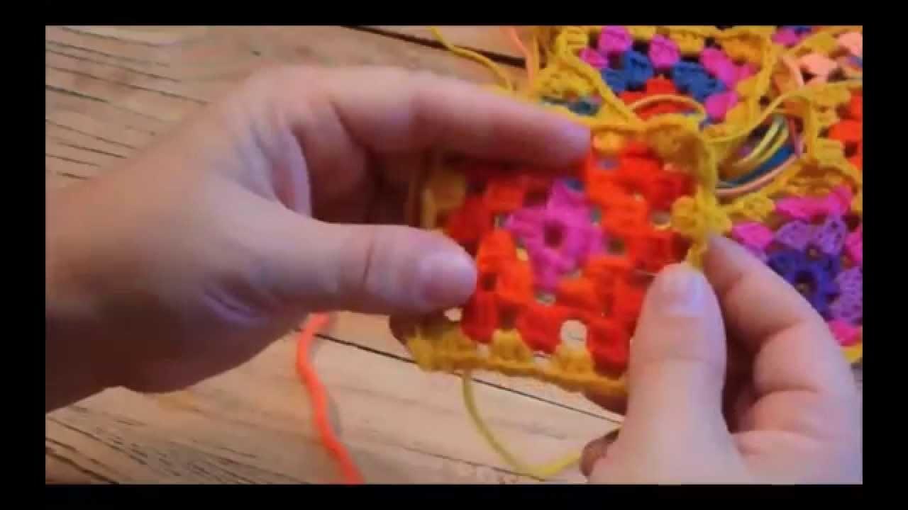 VhsStrickMooc - Tutorial 7: Granny Squares häkeln