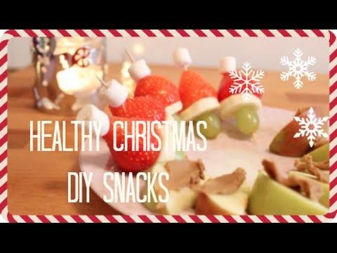 DIY: HEALTHY CHRISTMAS SNACK IDEEN. Weihnachts Rezept