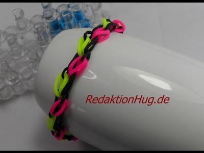 Loom Bands mit Rainbow Loom Anleitung Deutsch D 2 - Veronika Hug