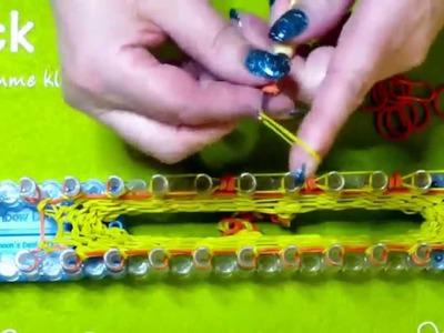 Rainbow Loom 3D Körbchen.Osterkörbchen von Lachtäubchen