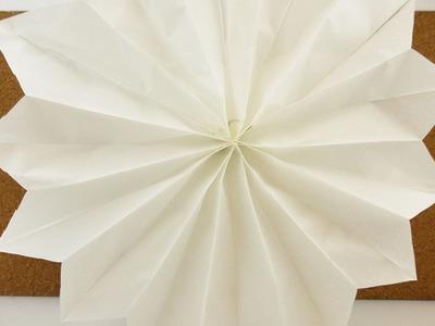 2 Minuten Weihnachtsdeko Stern | Super schneller Stern aus Papiertüten | DIY Christmas