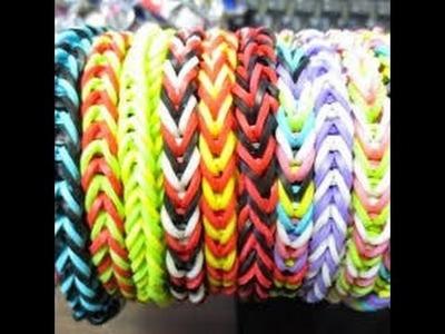 Rainbow Loom Deutsch - Einfaches Armband ohne Webrahmen