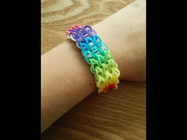 Rainbow Loom Dreifach Armband