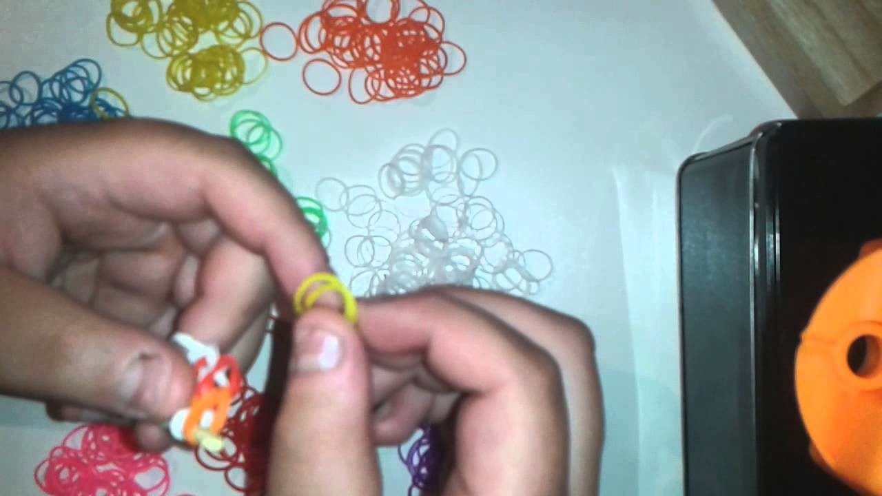 Rainbow Dream Bracelet. Rainbow loom