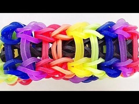 Loom Bandz Anleitung Deutsch Armband Ladder (Rainbow Loom Deutsch Loom Bands Armband