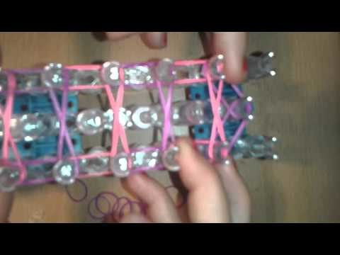 Rainbow Loom Armband mit Perlen