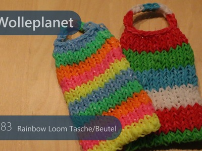 Rainbow Loom Tasche mit Loom