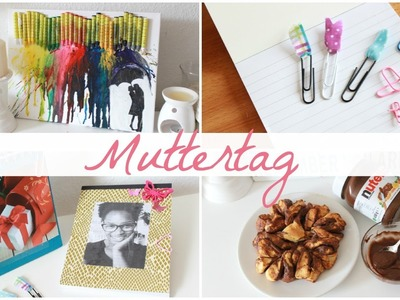 4 Muttertags DIY I Notitzbuch, Nutella Blume u.v.m I Mothersday DIY´s