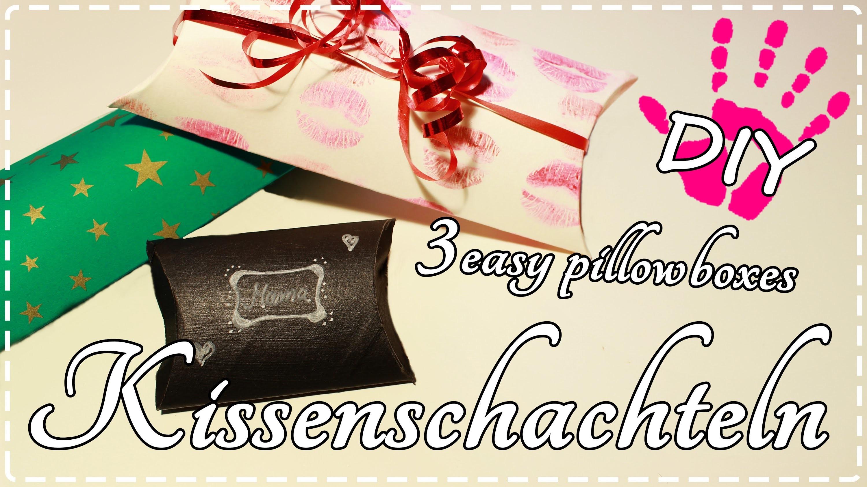 DIY- Kissenschachteln als Adventskalender ♥ 3 Varianten + Vorlage!