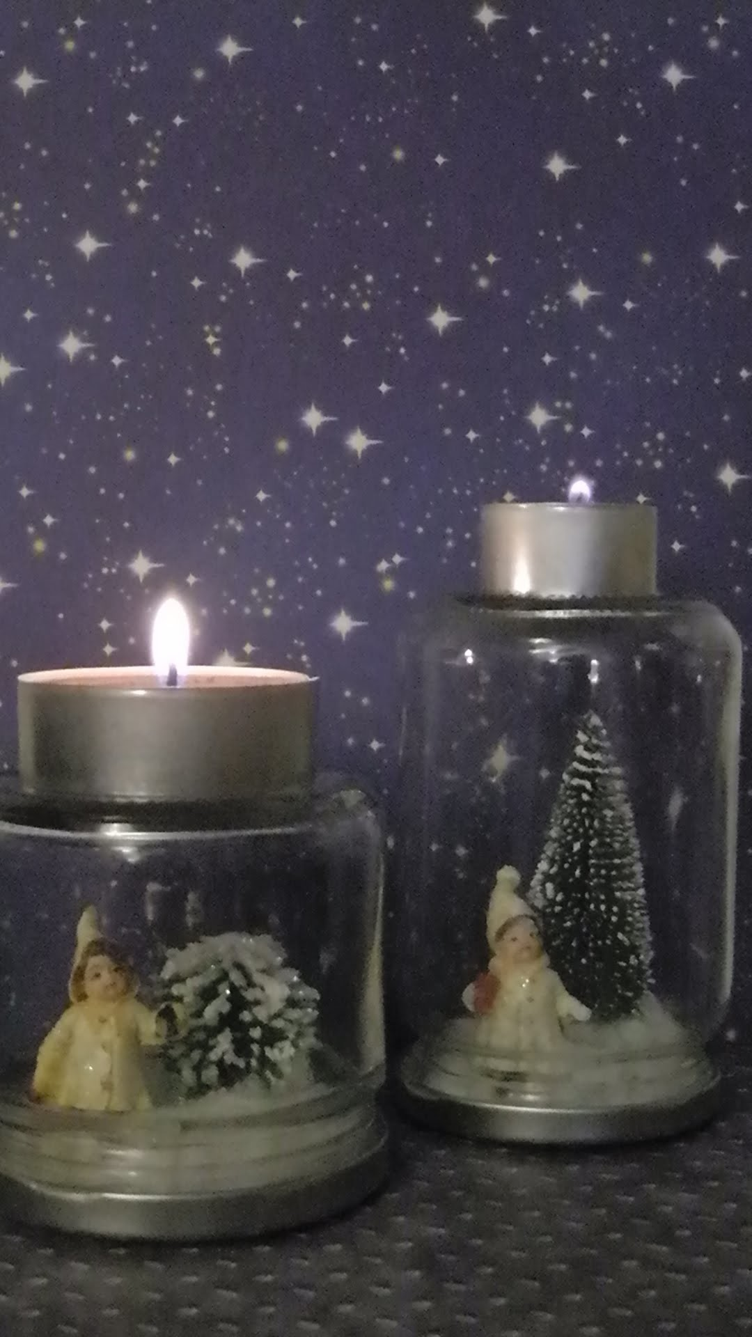 DIY Kleine Geschenke. little gifts  # 2  (Kerzenhalter. candle holder)