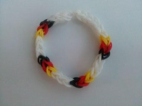 Fan Armband Deutschland,Crazy Loom,Rainbow Loom,Zauber Loom,Deutsch