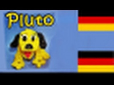Loom Bandz Anleitung Deutsch Pluto. Hund, (Loom Bands Deutsch Tiere, Rainbow Loom Deutsch)