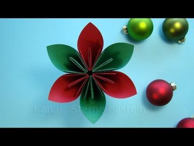 Basteln Weihnachten: Weihnachtsdeko basteln mit Papier - Weihnachtsbasteln - DIY Ideen