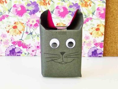 DIY Geschenke verpacken | Super süße Idee für Geschenke mit Tiergesicht | Weihnachten Advent