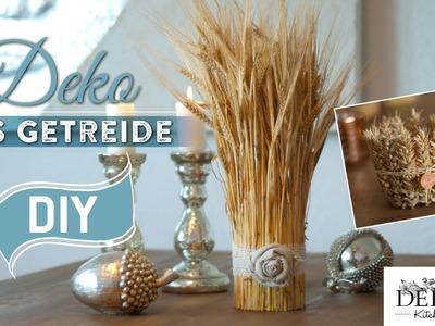 DIY: Hübsche Herbstdeko aus Getreide | Deko Kitchen