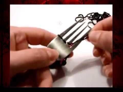 Dragonscale Armband mit Gabel Loom Bands ohne Rainbow Loom (deutsche Anleitung)