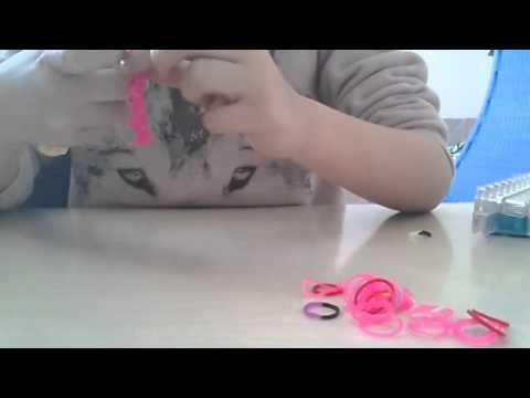 Rainbow loom Anfänger armband