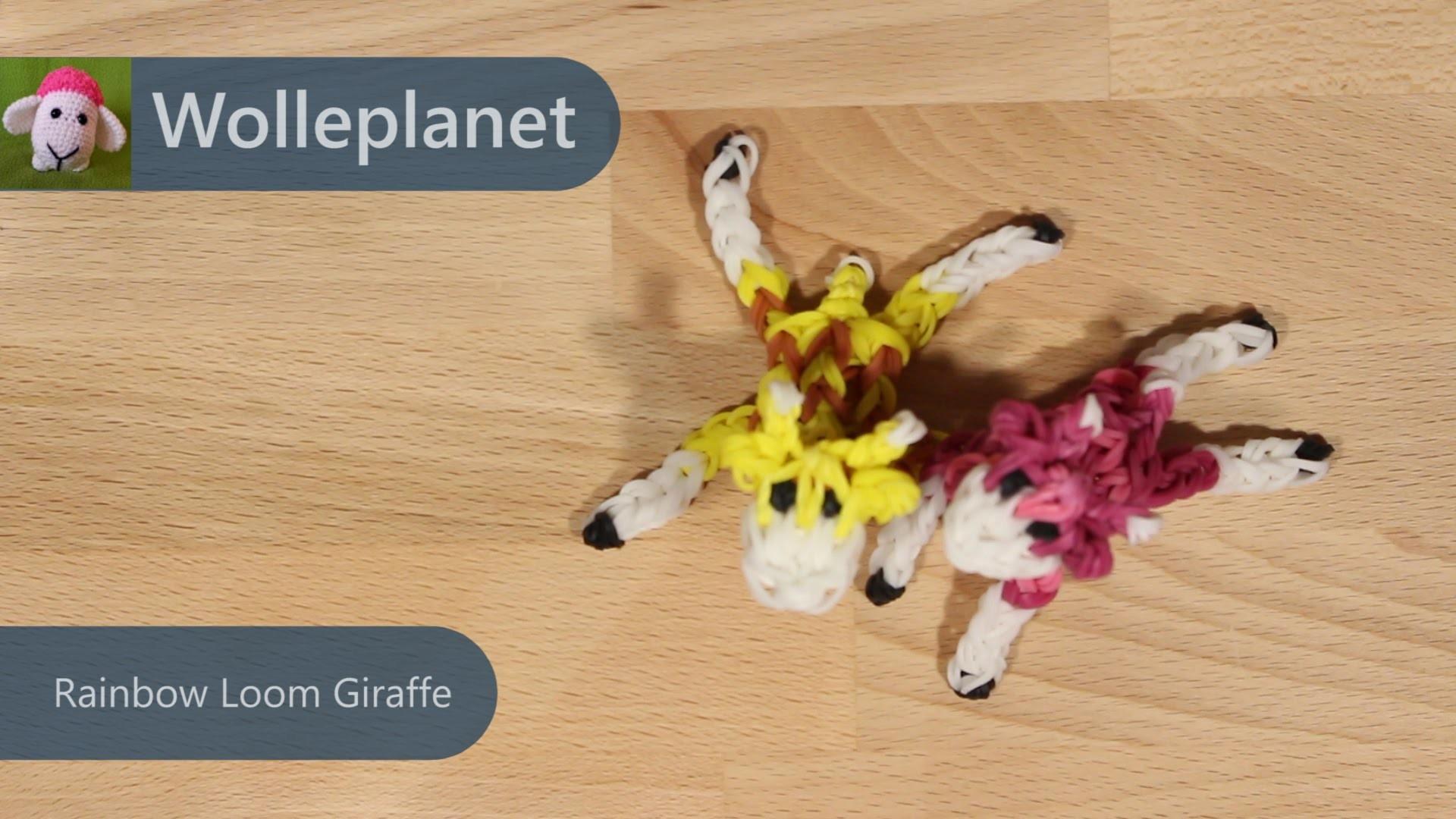Rainbow Loom Giraffe