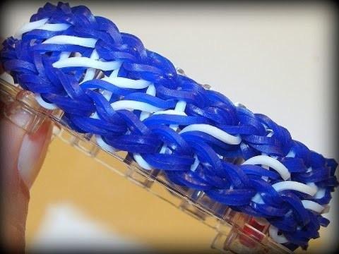 Doppeltes Infinity Armband - Loom Bands mit Rainbow Loom, Infinity Bracelet