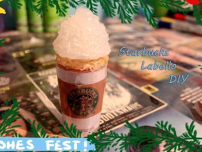 Starbucks-Labello DIY   #ZeldasChristmasAtHogwarts   Zelda The House Elve