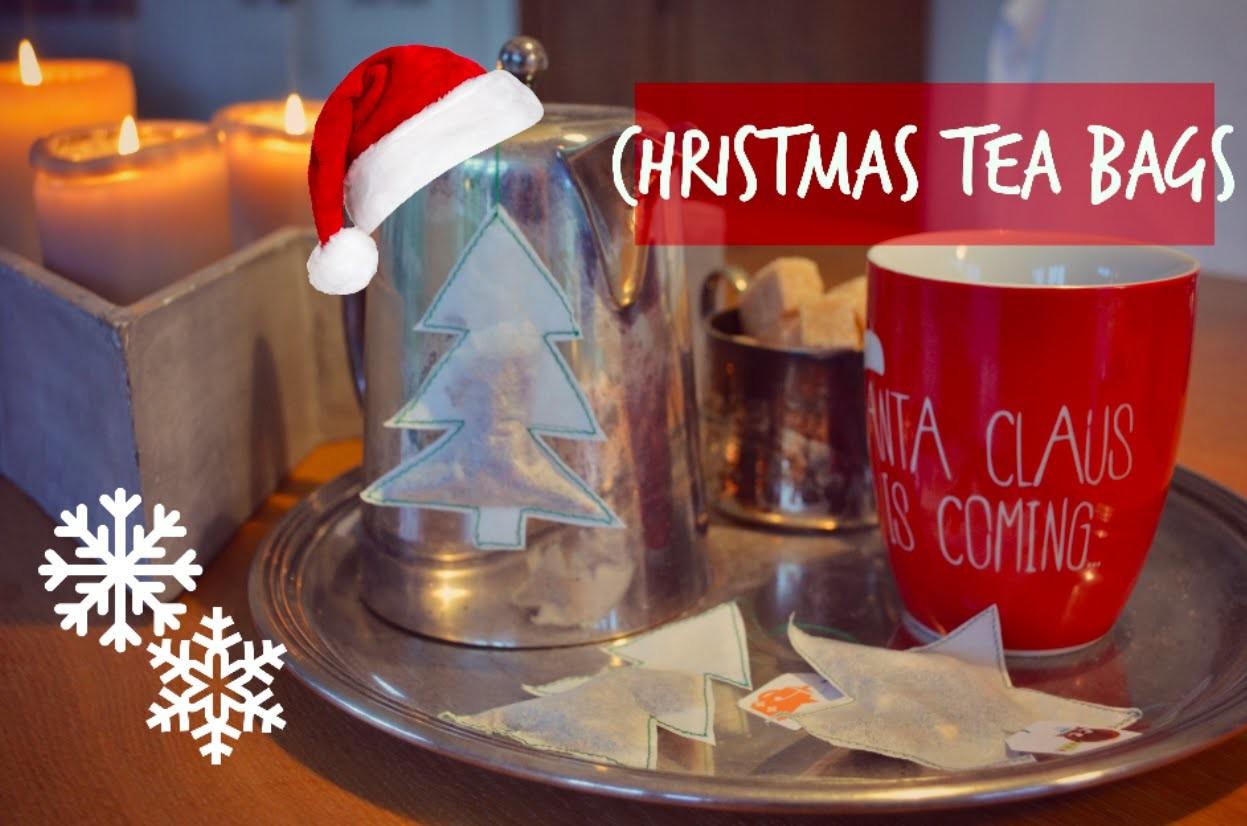 DIY Christmas Tea Bags | Charlotte K.