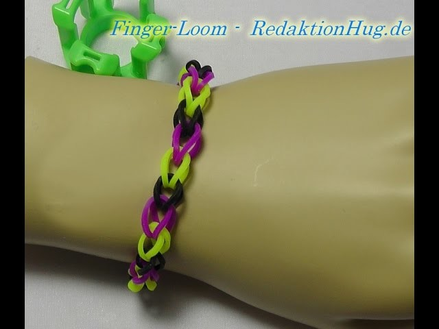 Loom Bands - Rainbow Loom - Finger-Loom - Band S - Veronika Hug