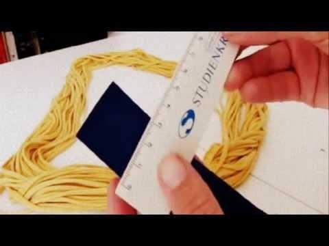 Tutorial: Fransen Loopschal selber machen - DIY Loop Schal Nähen Stricken