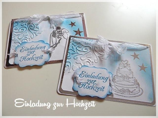 [Craft]Hochzeitseinladungen