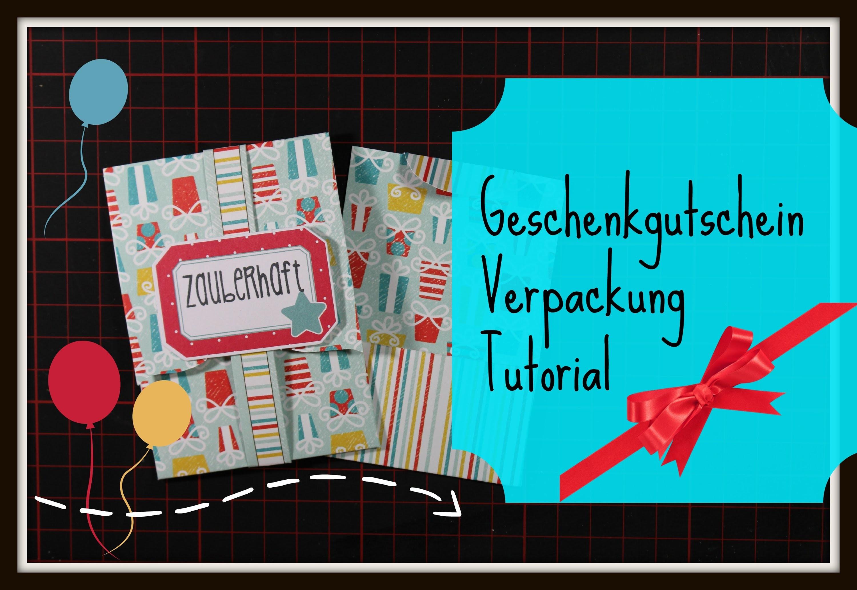 DaniPeuss [Tutorial] Geschenkgutschein Verpackung