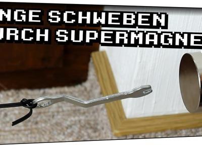 Dinge mit Supermagnet schweben lassen! - Heimexperimente #32