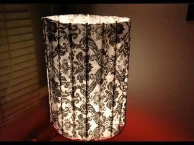 Lampe mit Serviettentechnik