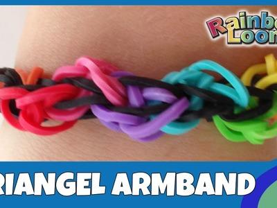 RainbowLoom Triangel-Armband - deutsche Anleitung
