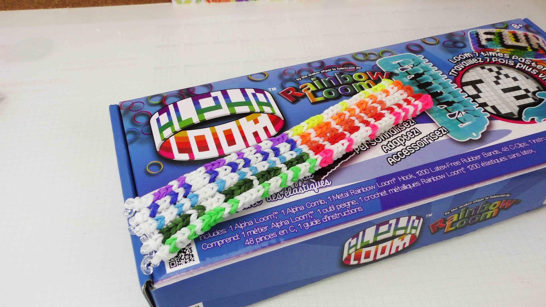 Alpha Loom Armband | Klassisches Alpha Armband - wie auf der Verpackung | Rainbow Loom