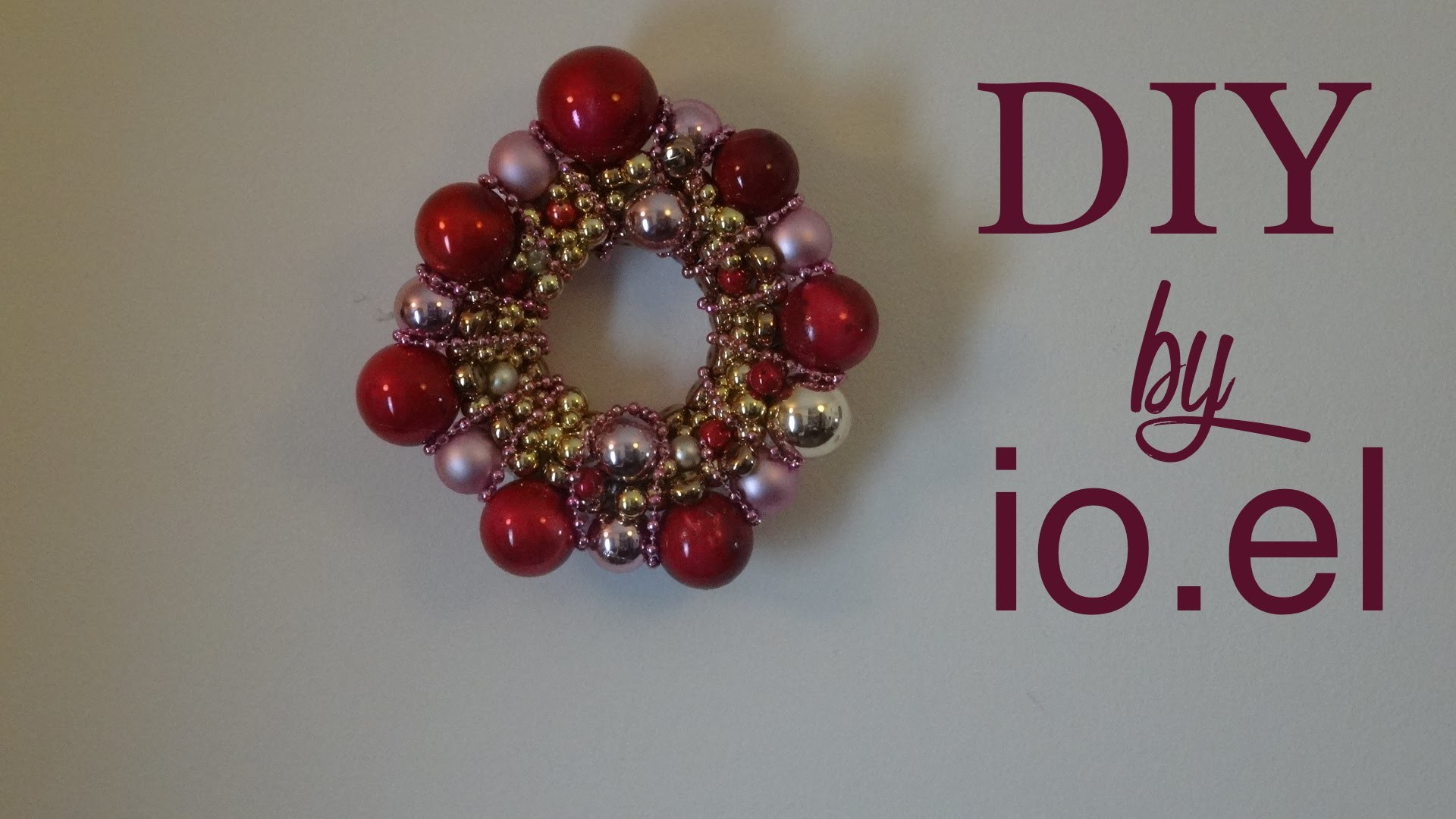 DIY. Christmas ornament - Weihnachtsdeko