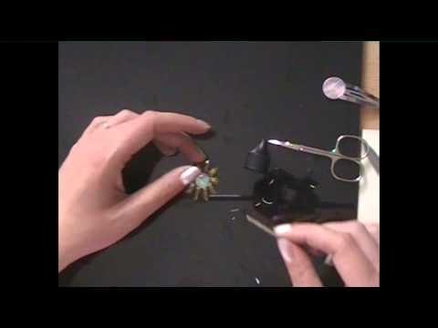 DIY Haarspange basteln * Schmuck basteln *