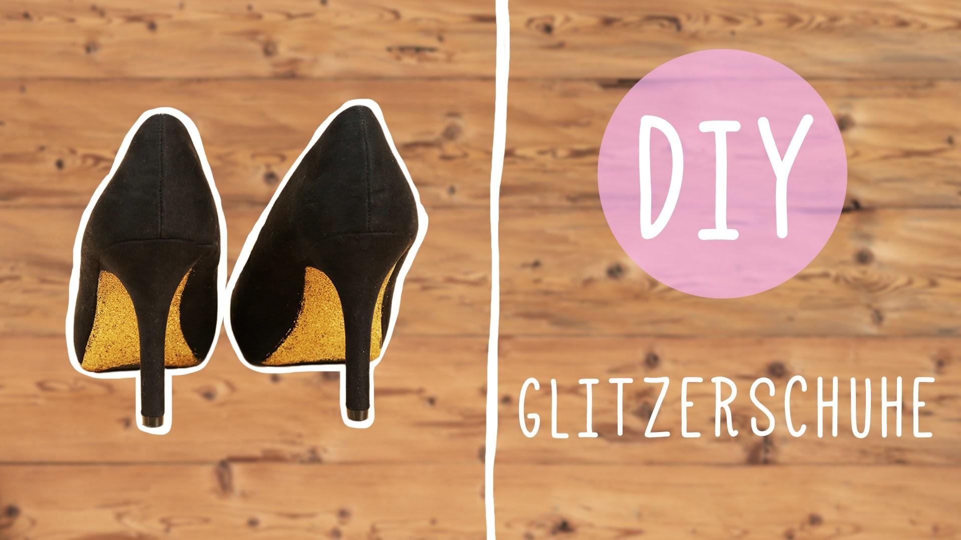 DIY mit Nina: Glitzernde High Heels für die Party!