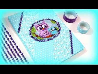 DIY Washi Tape Ideen - Schülerkalender mit Washi Tape selber machen - Anleitung deutsch