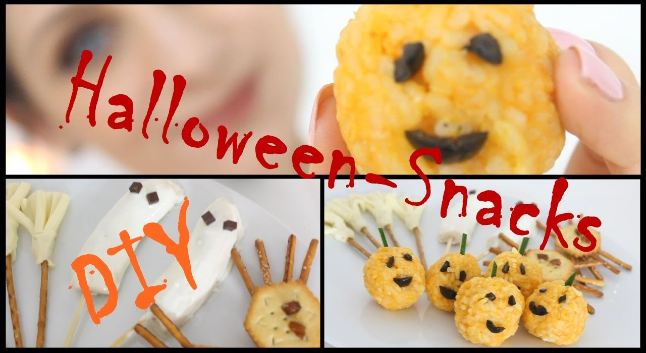 HALLOWEEN-SNACKS | DIY | Rezept-Ideen