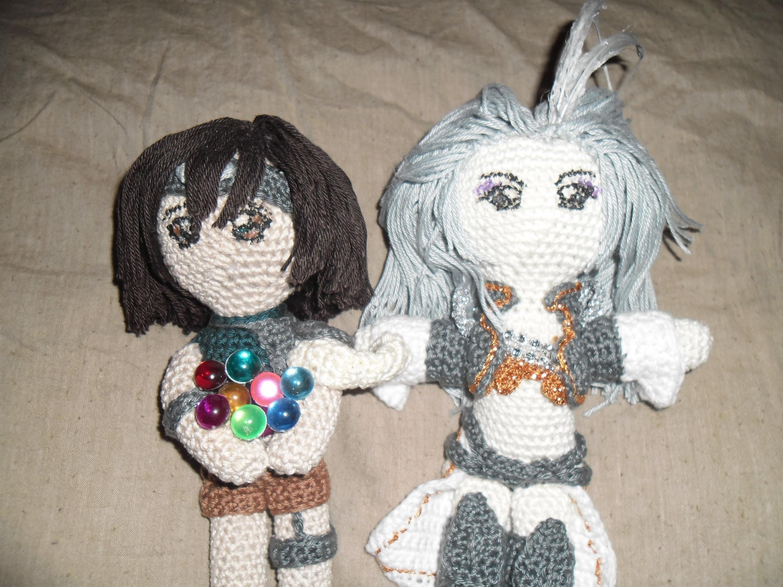 Puppen Häkeln (Final Fantasy Spezial Teil1)