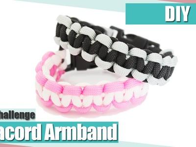 [DIY] Paracord Armband Kreuzknoten | Swap mit Craftmamanl | Anielas Fimo