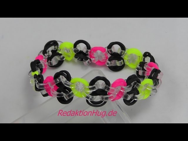 Loom Bands Rainbow Loom C-Clips Anleitung Deutsch - Veronika Hug