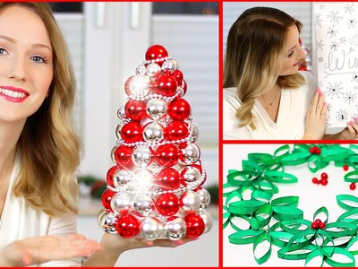 DIY CHRISTMAS ROOM DECOR - FAST & EASY - TheBeauty2go