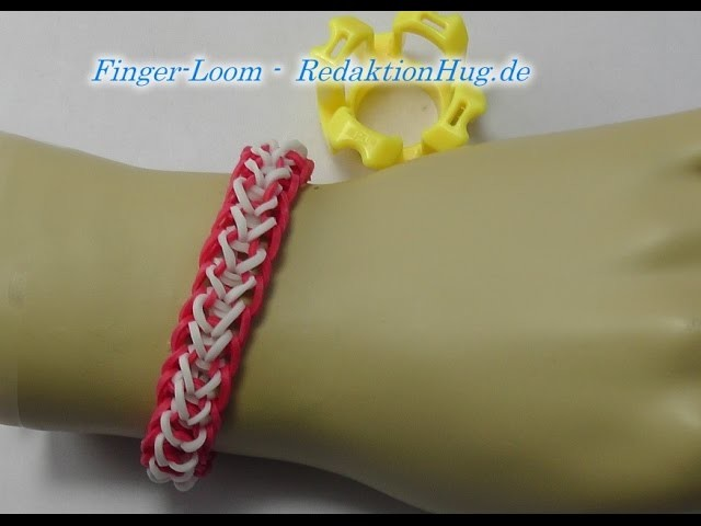 Loom Bands - Rainbow Loom - Finger-Loom - Band O - Veronika Hug