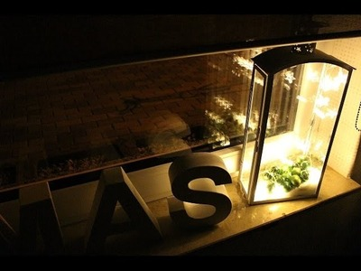 DIY Weihnachtsdeko Fenster Christmas Deko selber machen Xmas Ideen