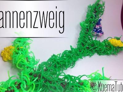 Rainbow Loom Tannenzweig - fir branch Tutorial