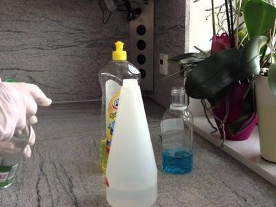 Badreiniger selbst machen - Badreiniger herstellen